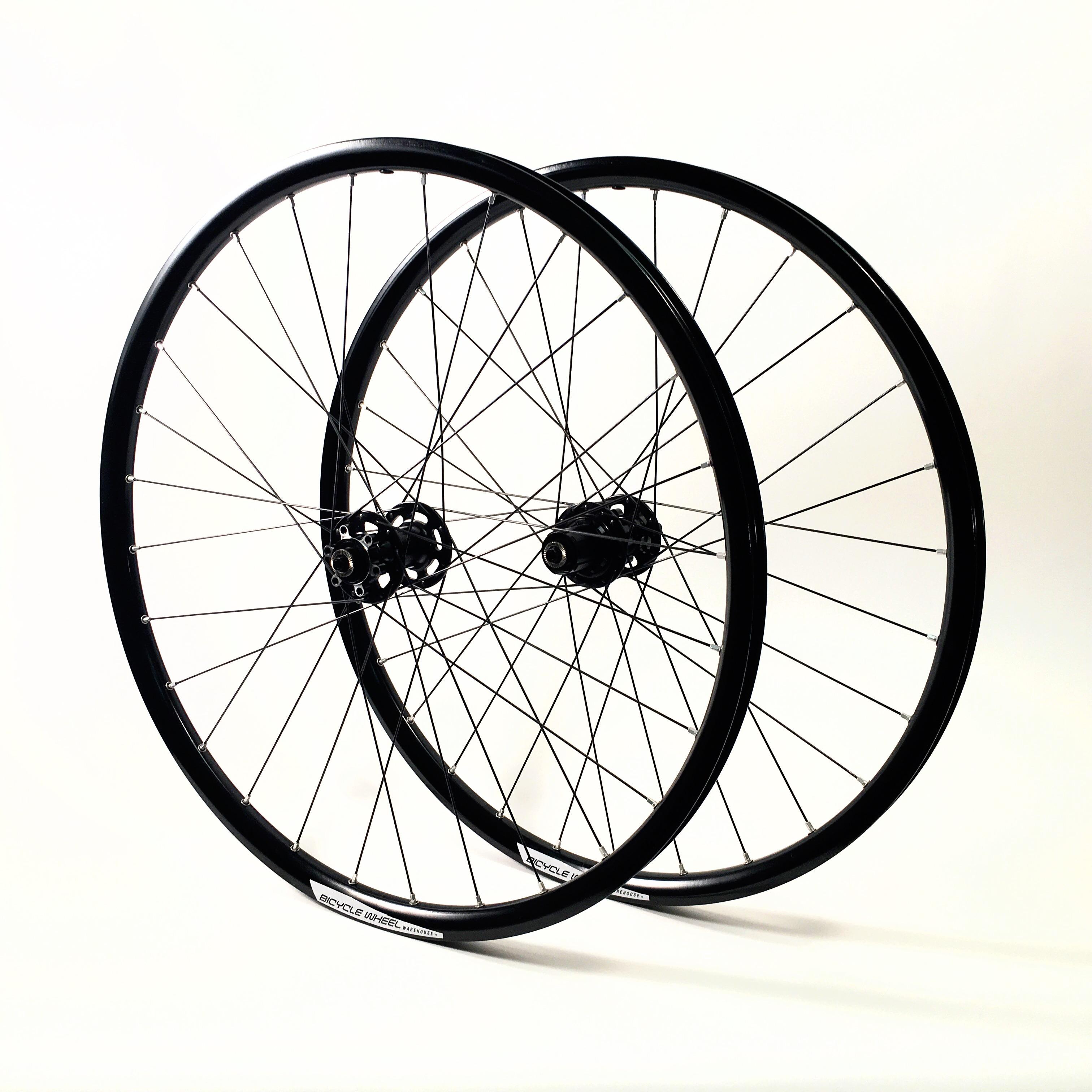 "Sun Rhyno Lite 26/"" Mountain Bike Wheelset Shimano Deore Disc Hubs /& rim Brake"